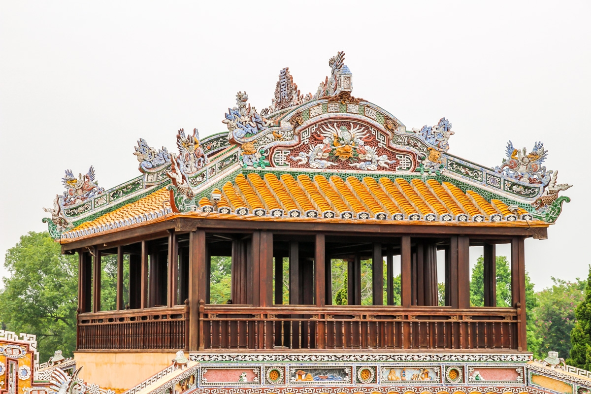 Reconstrucciones, ciudadela de Hue