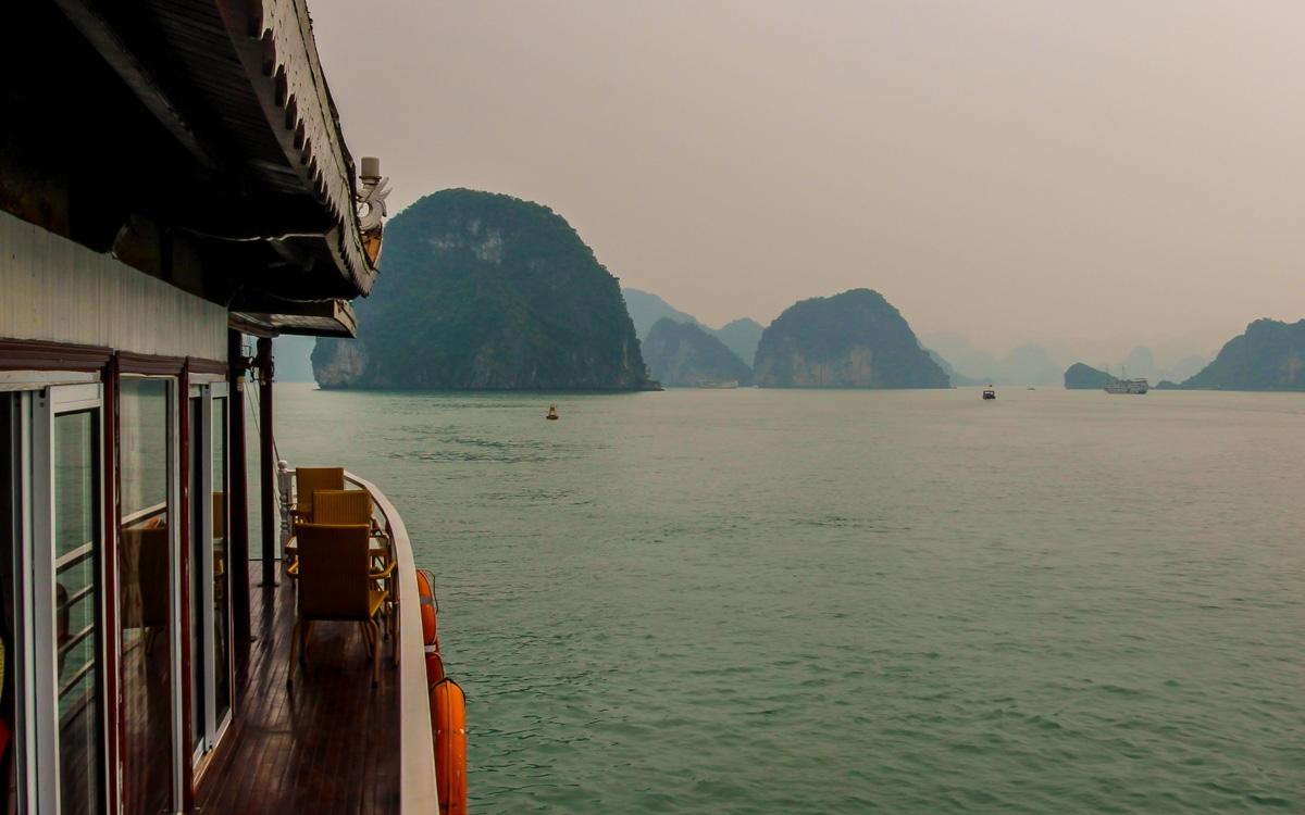 Navegando en Halong Bay