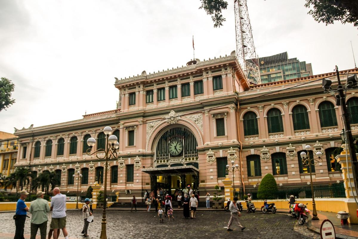 Edificio de Correos de Saigon