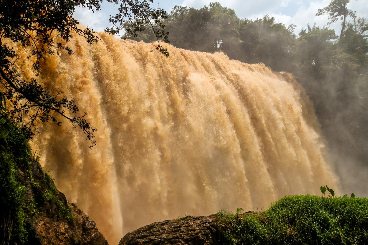 Elephant Waterfalls, al sur de Dalat