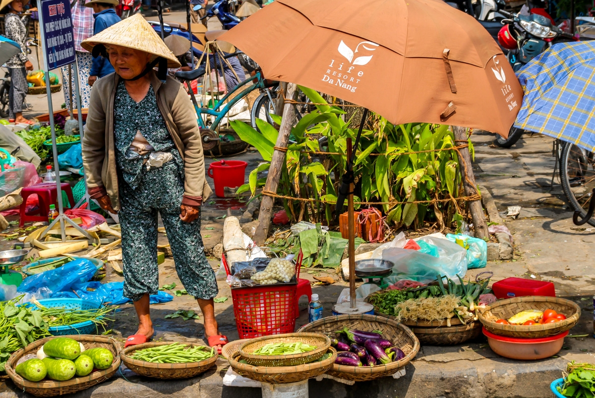 Señora de mercado, Vietnam