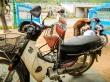 Sillín de bebé homologado, mientras nos reparaban nuestra moto