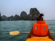 Hacia los islotes, Halong Bay