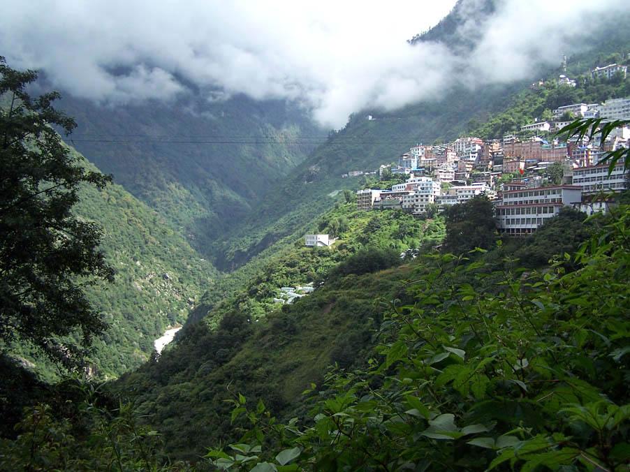 Zhangmu, entre el tibet y nepal