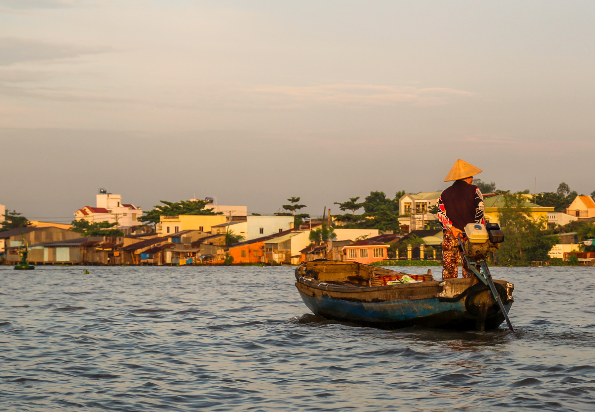Ho Chi Minh City y el Delta del Mekong