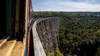 Hsipaw y los trenes de Myanmar
