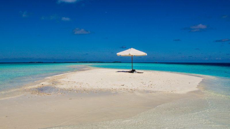 Gulhi y los Sandbanks en Maldivas