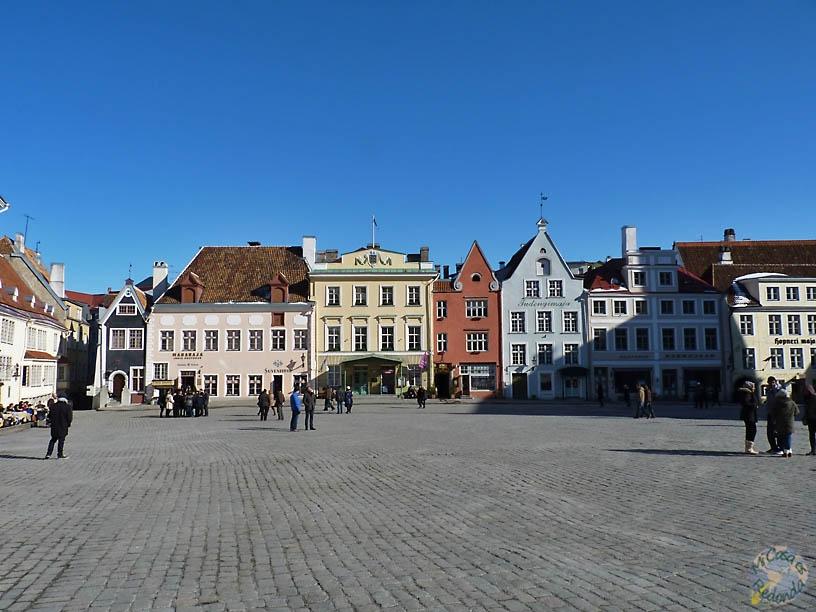 Plaza principal de Tallin
