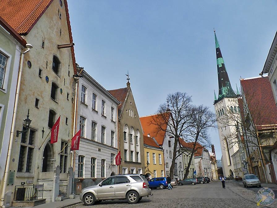 Paseando por el centro, Tallin