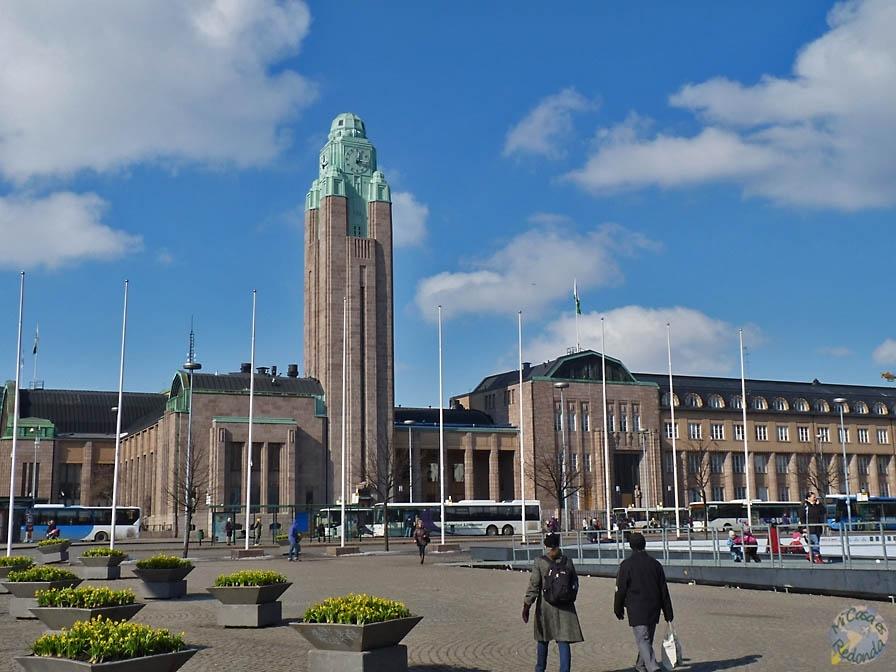 Estación de trenes de Helsinki