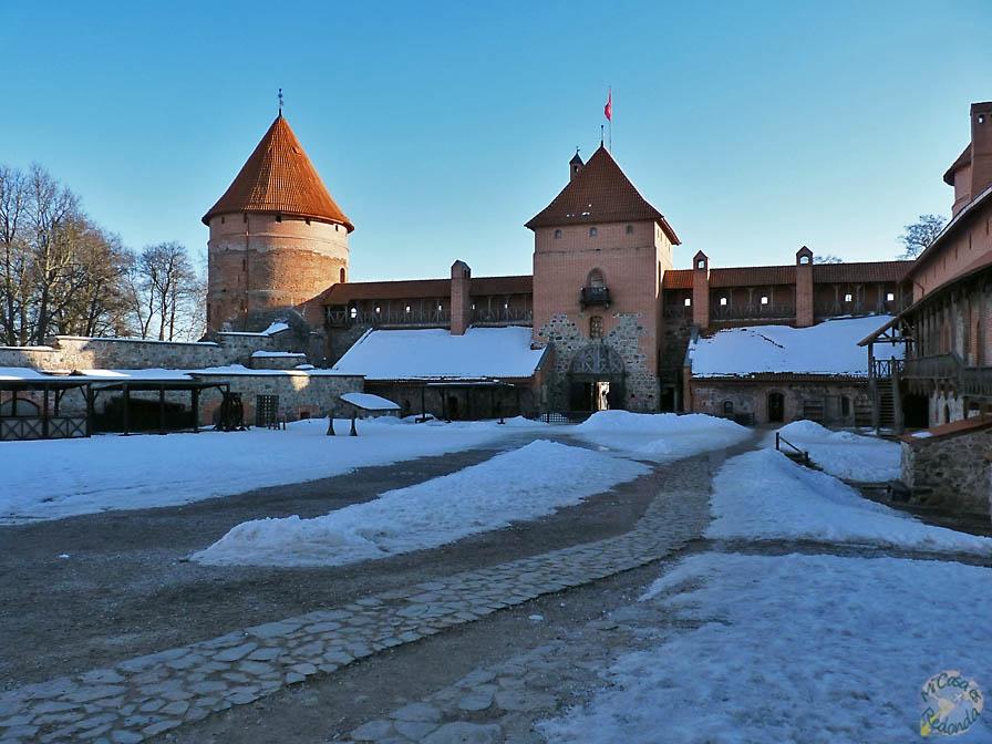 Castillo nevado, Trakai