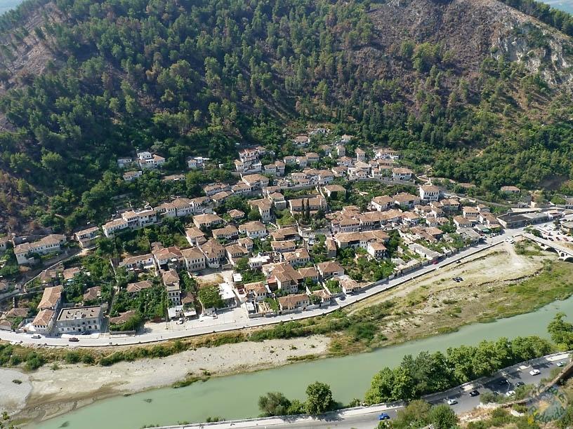 Berat desde el castillo