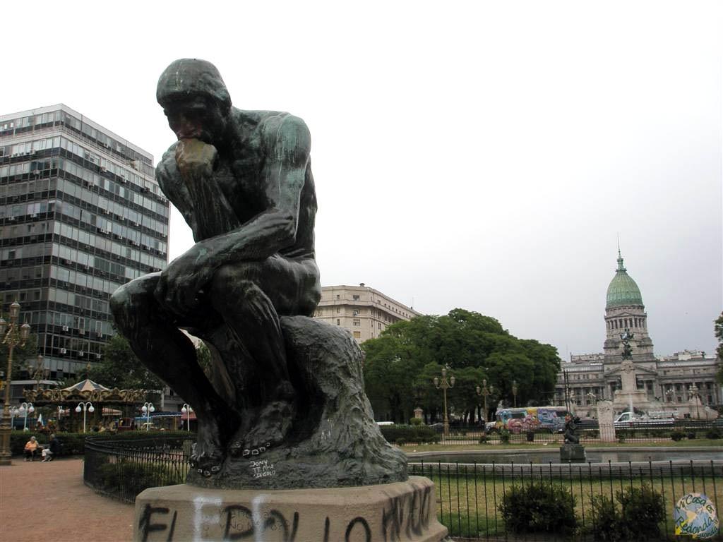 Buenos Aires, plaza del Congreso