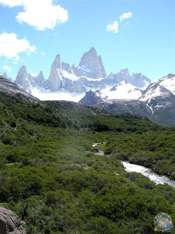 de trekking por el Chaltén