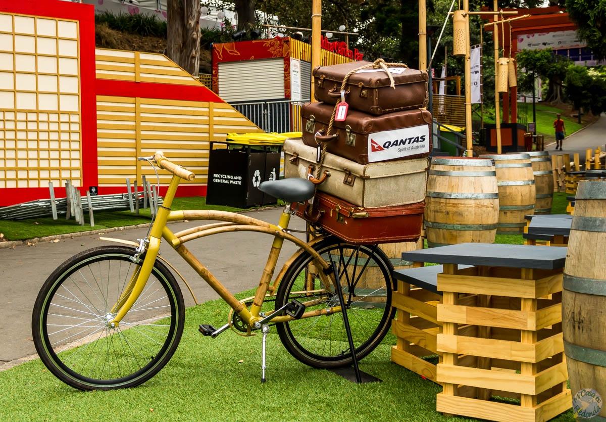 Bici de bambú, Sydney