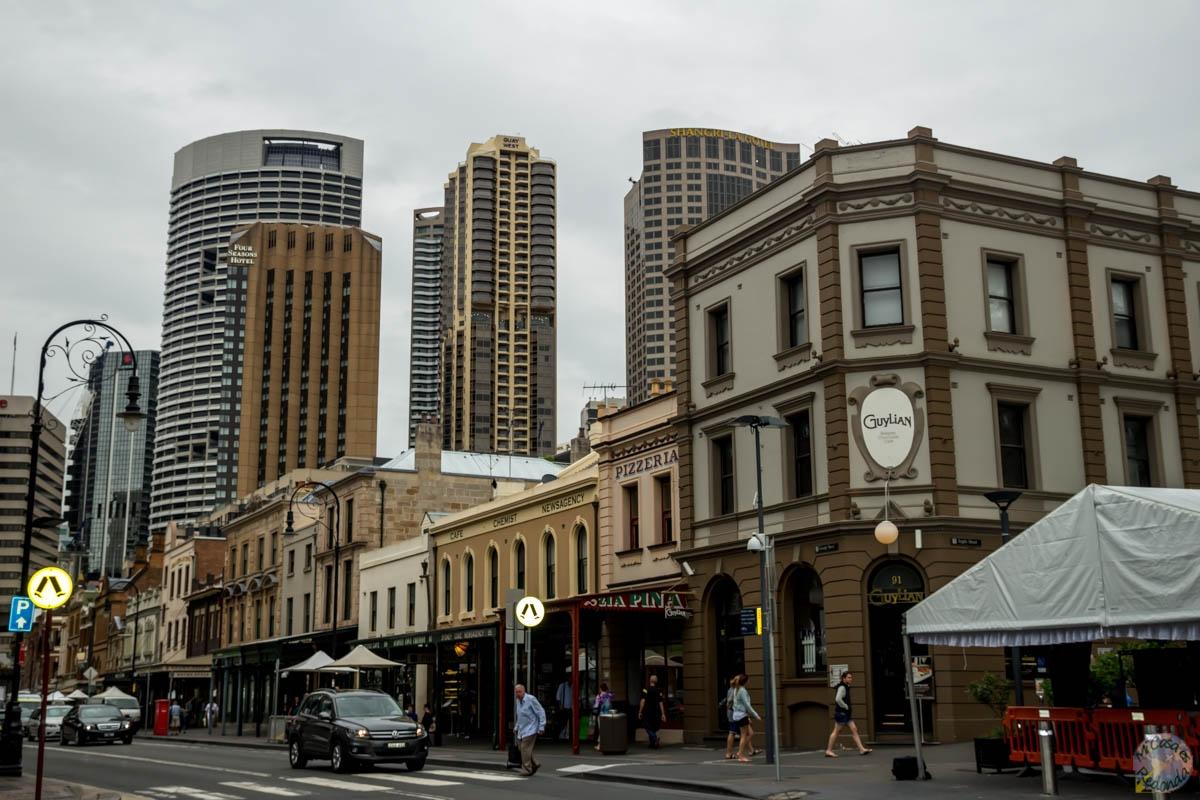 The Rocks, el primer barrio de Sydney
