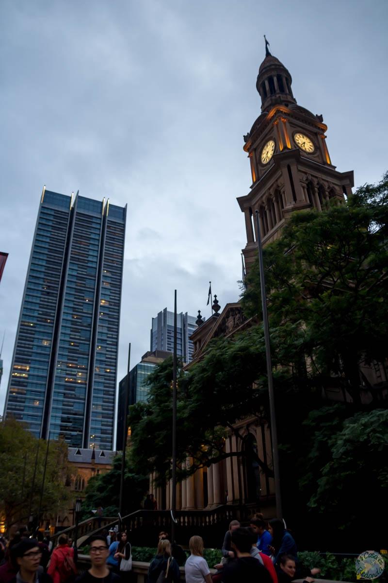 El Town Hall de Sydney, en George Street