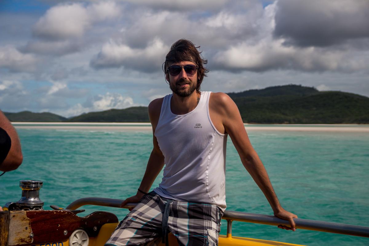 Parece que llevo peluquín. Whitsunday Islands