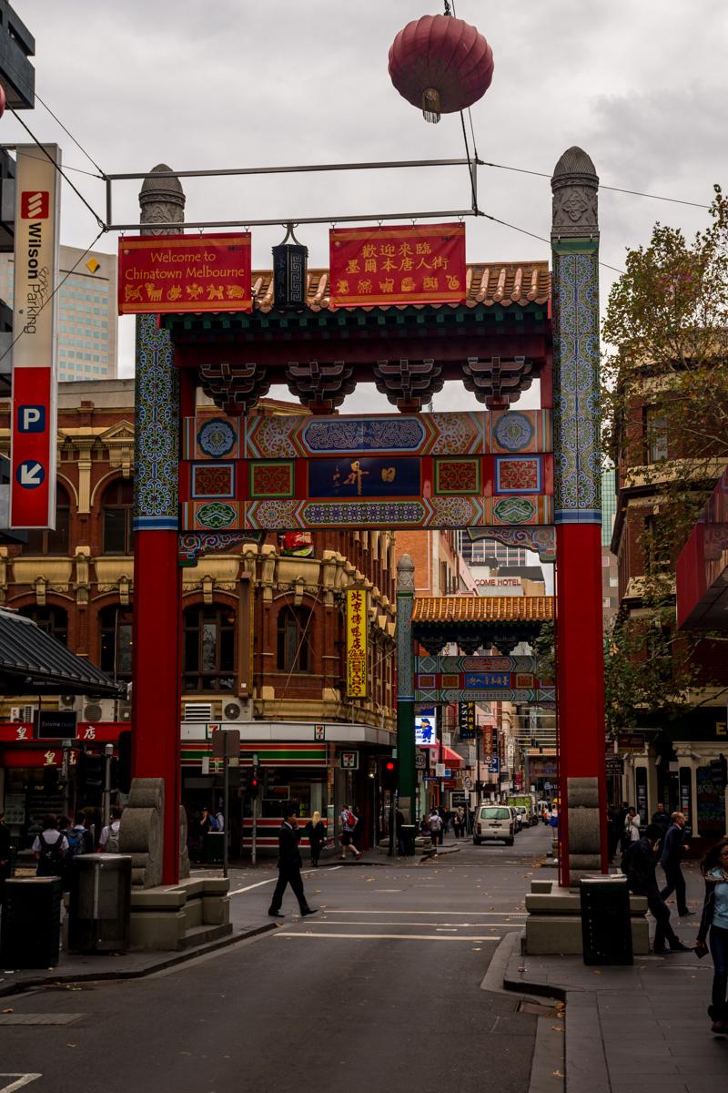 El pequeño Chinatown en Melbourne