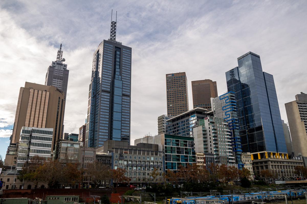 Skyline del CBD de Melbourne