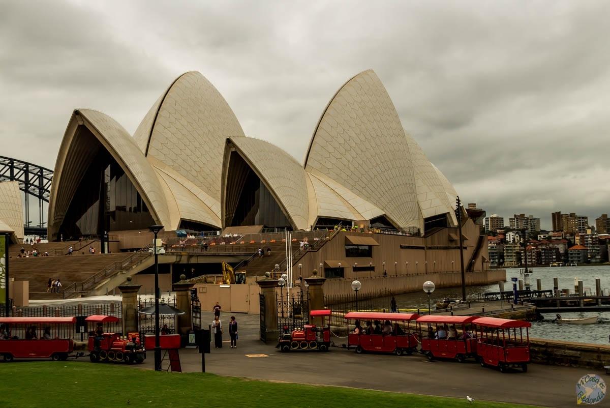 Llegando a la Ópera, Sydney