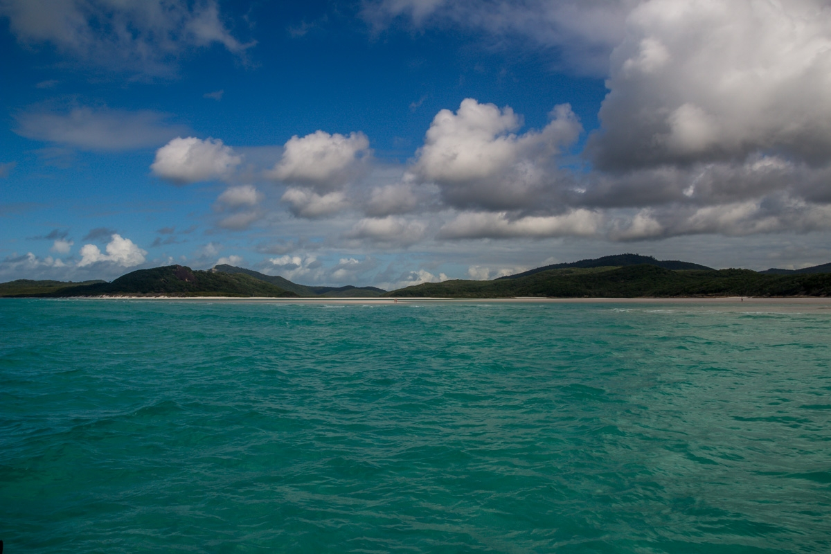 En las Whitsunday islands