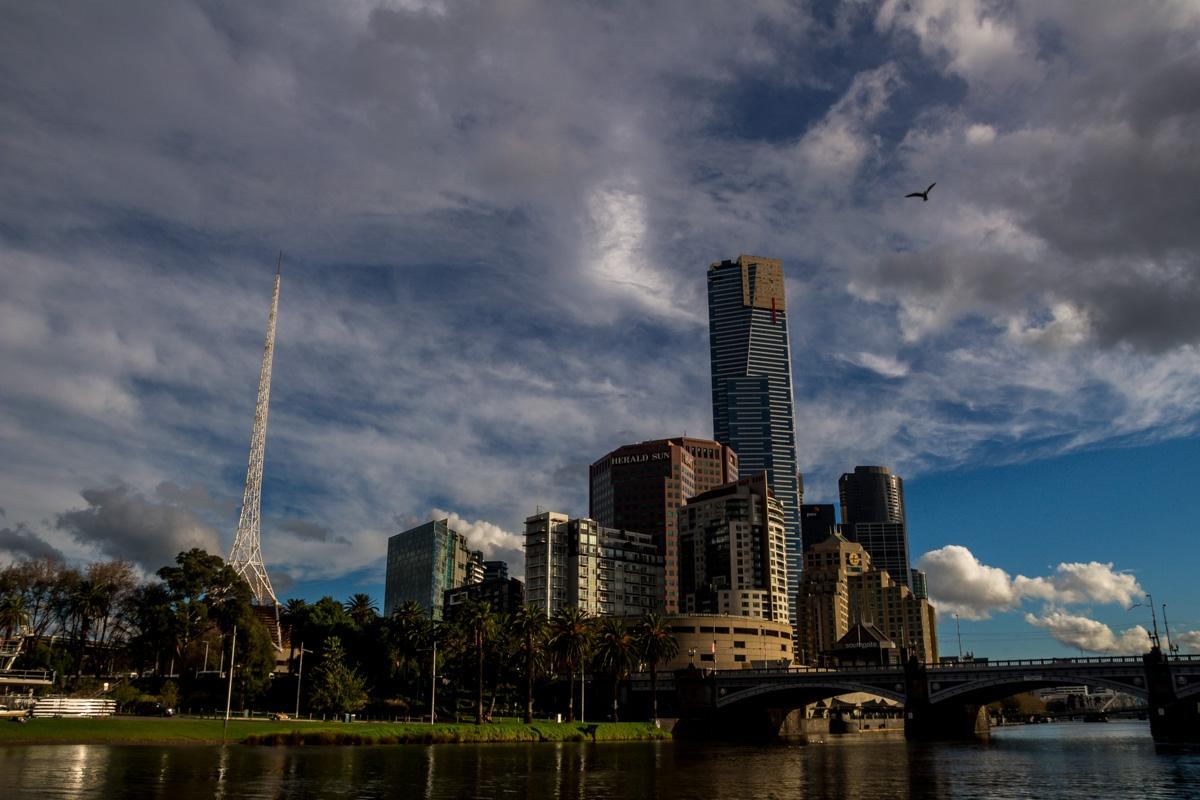 Al sur del río, Melbourne