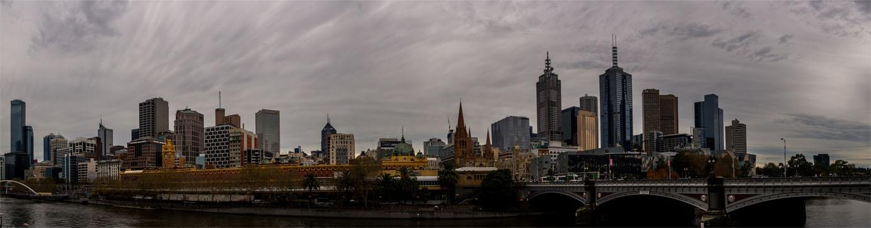 Panorámica de Melbourne