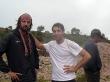 Con Jonathan en alguna carretera boliviana