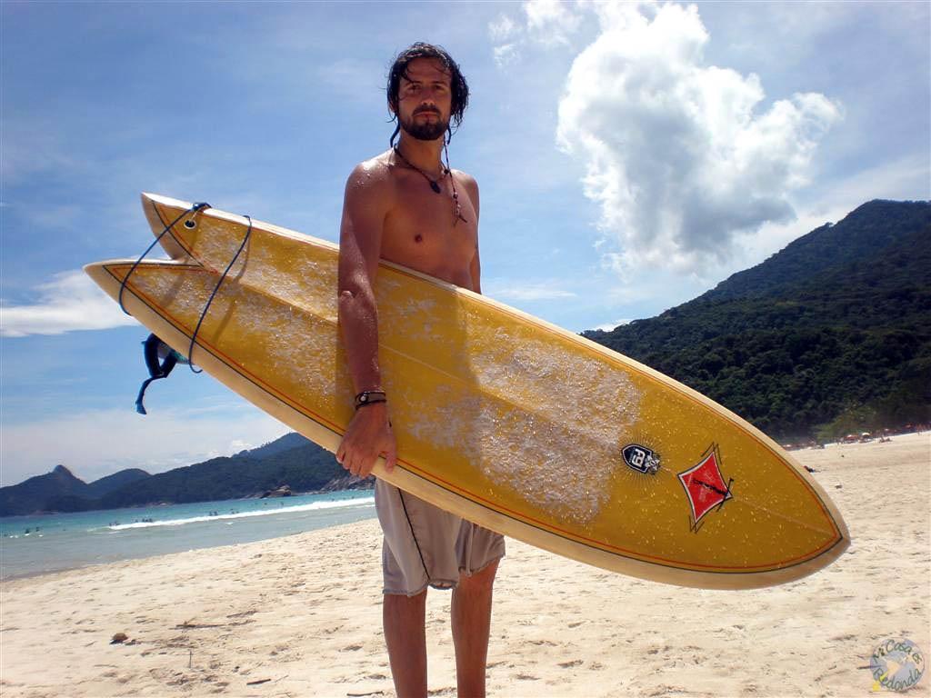 Primeros intentos con el surf