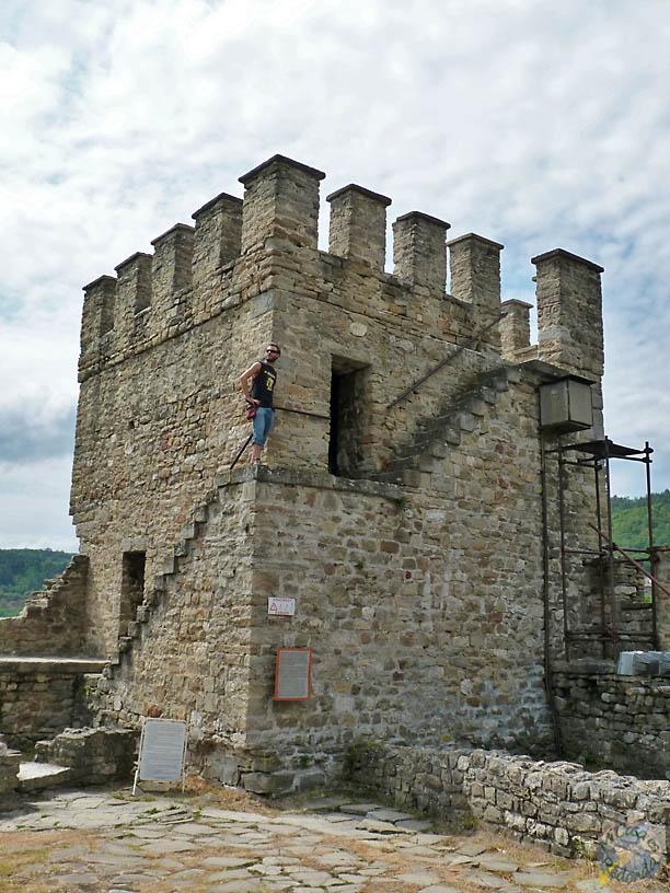 Torres de la fortaleza de Tsarevets