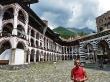 Patio del monasterio de Rila