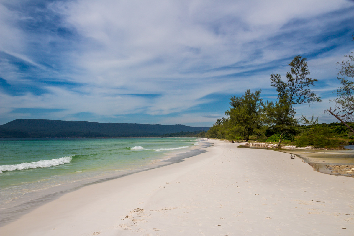 La interminable Long Beach en Koh Rong
