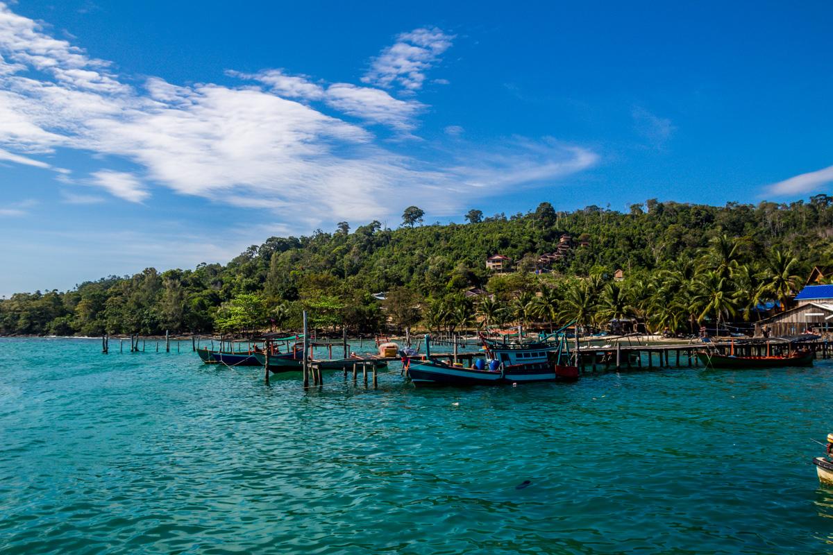 Embarcaderos de Koh Rong