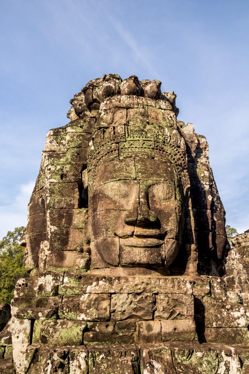 Las caras en el Bayon, Angkor