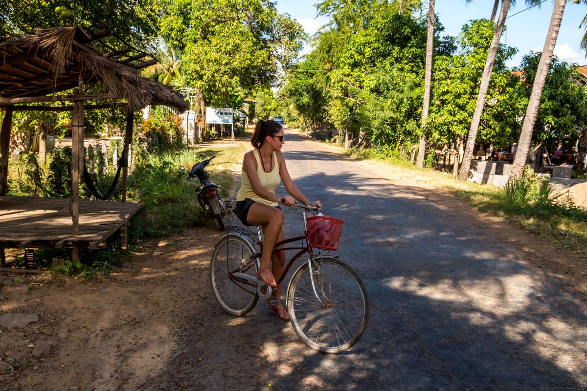 Las bicicletas son para el verano extremo, Kratie