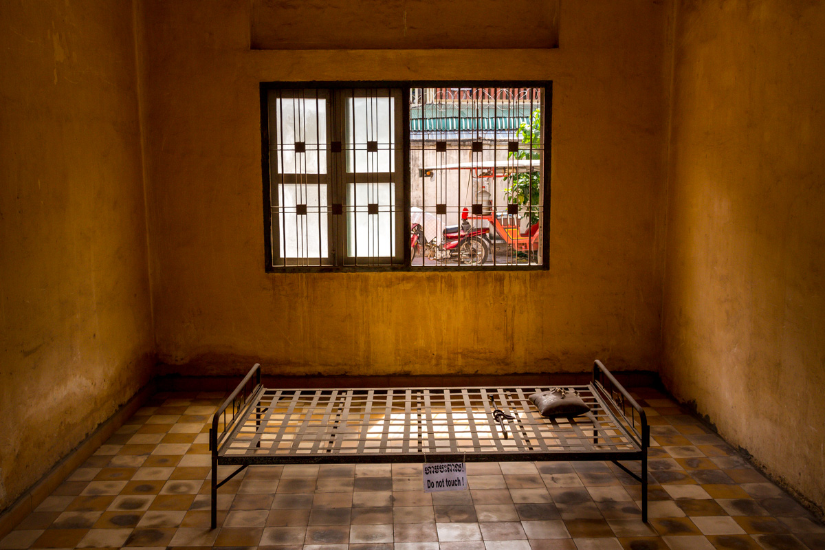 Celdas en el Tuol Sleng o S21, Phnom Penh