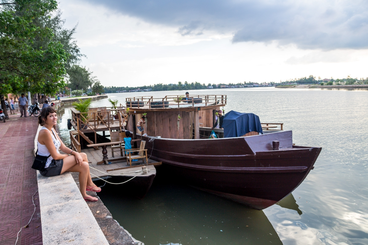 Pasando la tarde, Kampot