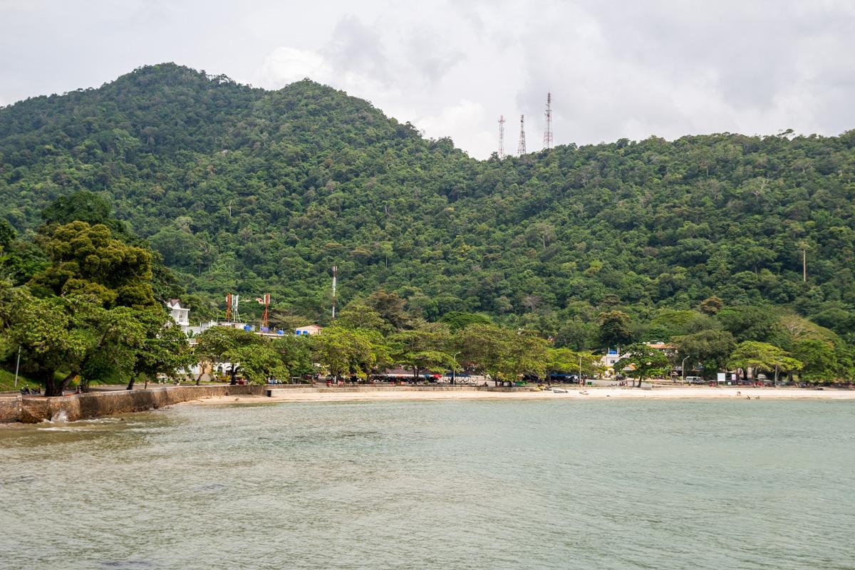 La playa de Kep