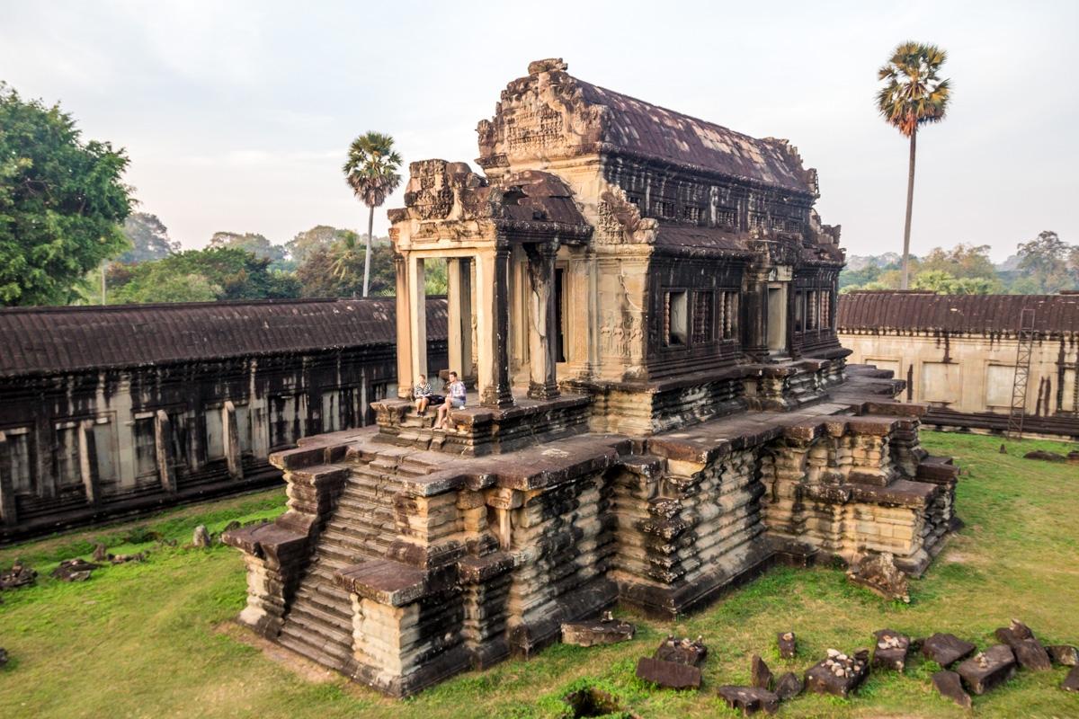 Dentro de Angkor Wat