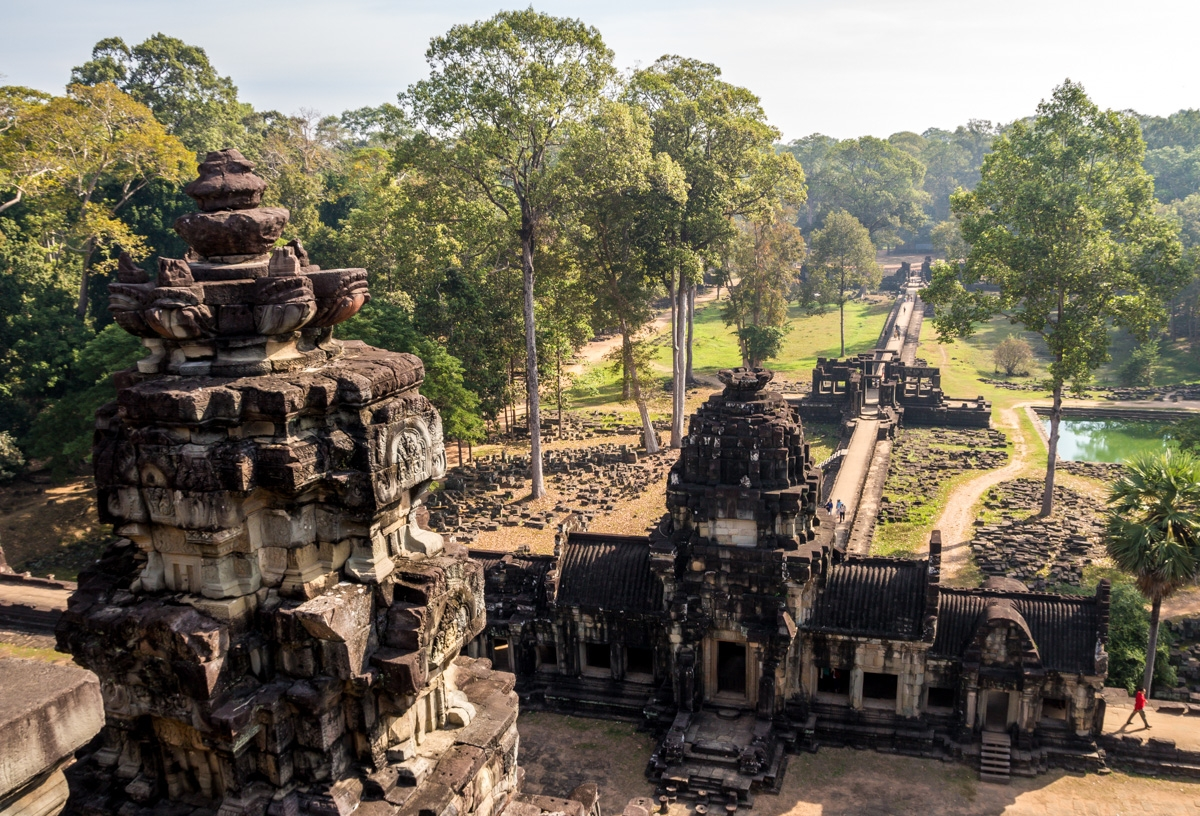 Desde lo alto del Baphuon, Angkor