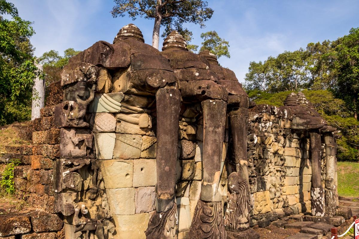 Terraza de los Elefantes, Angkor