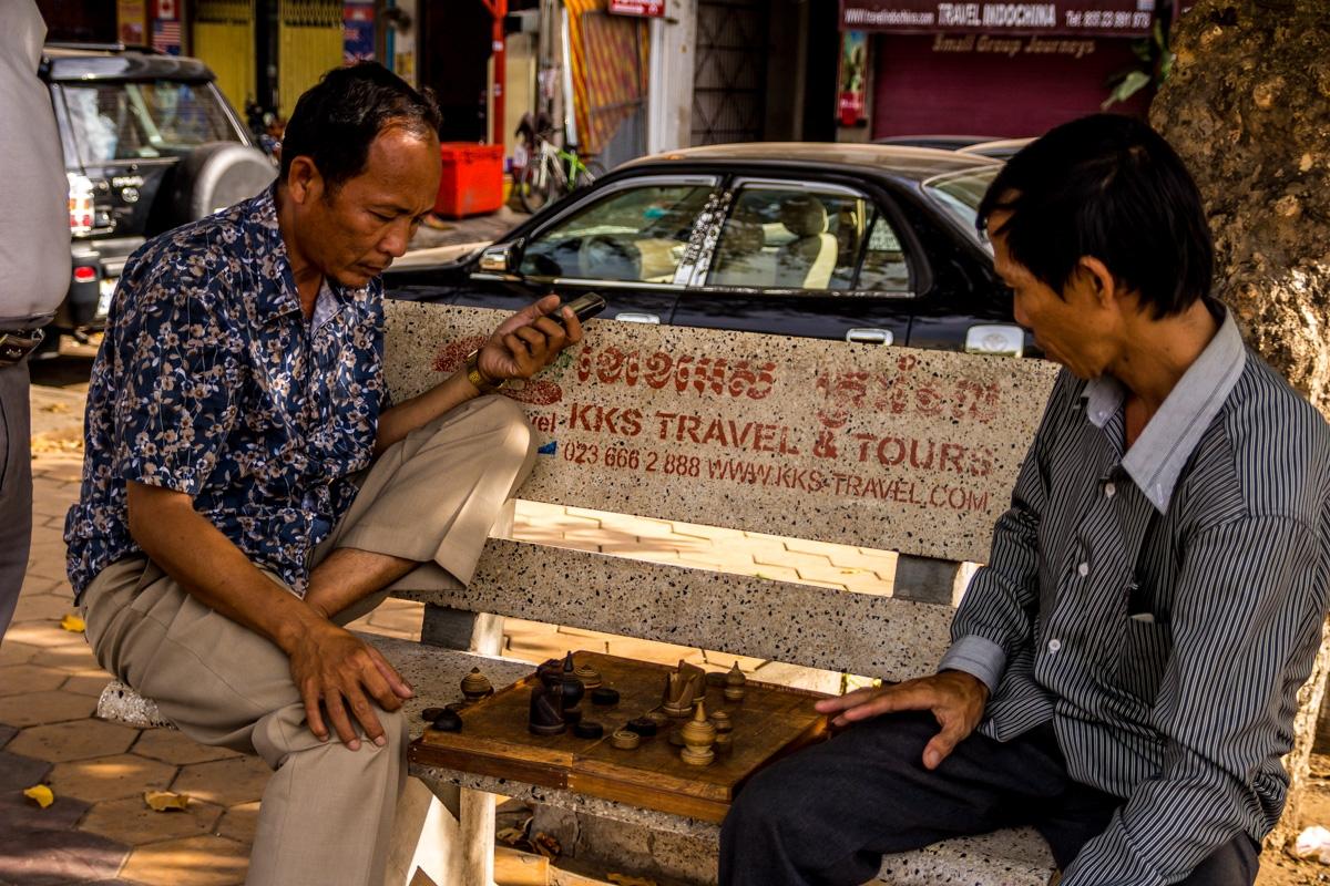 Ajedrez en Phnom Penh
