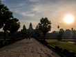 La entrada a Angkor Wat