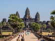 La entrada principal a Angkor Wat