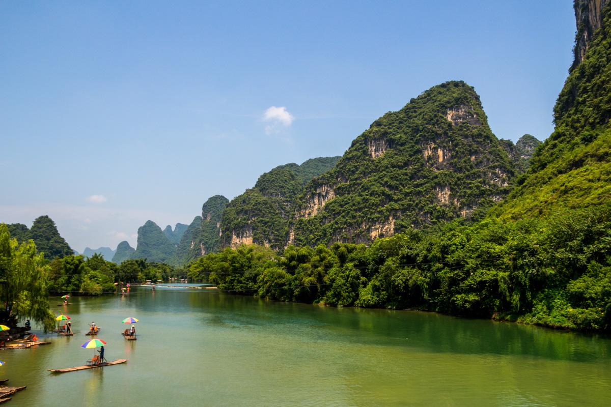 El río Yulong