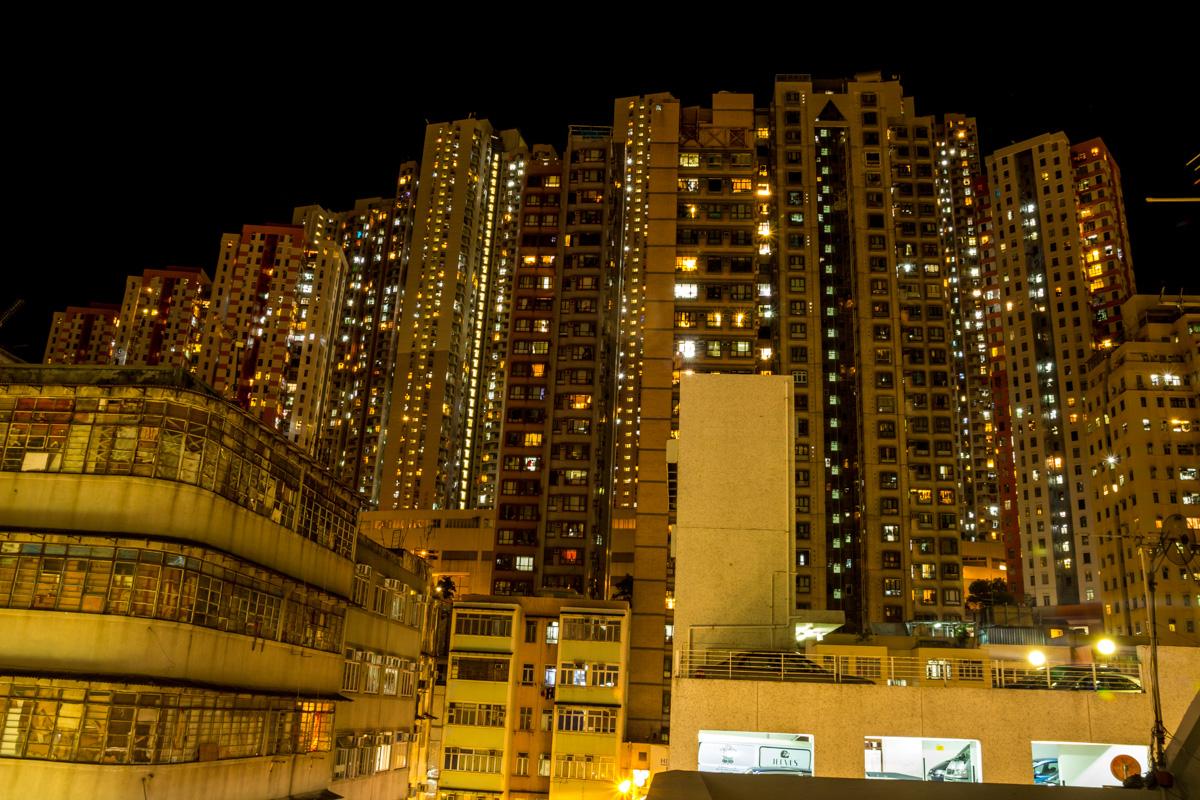 Nuestro barrio de Aberdeen en Hong-Kong
