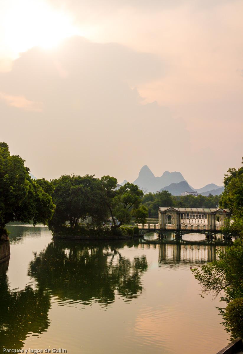 Parques y lagos de Guilin