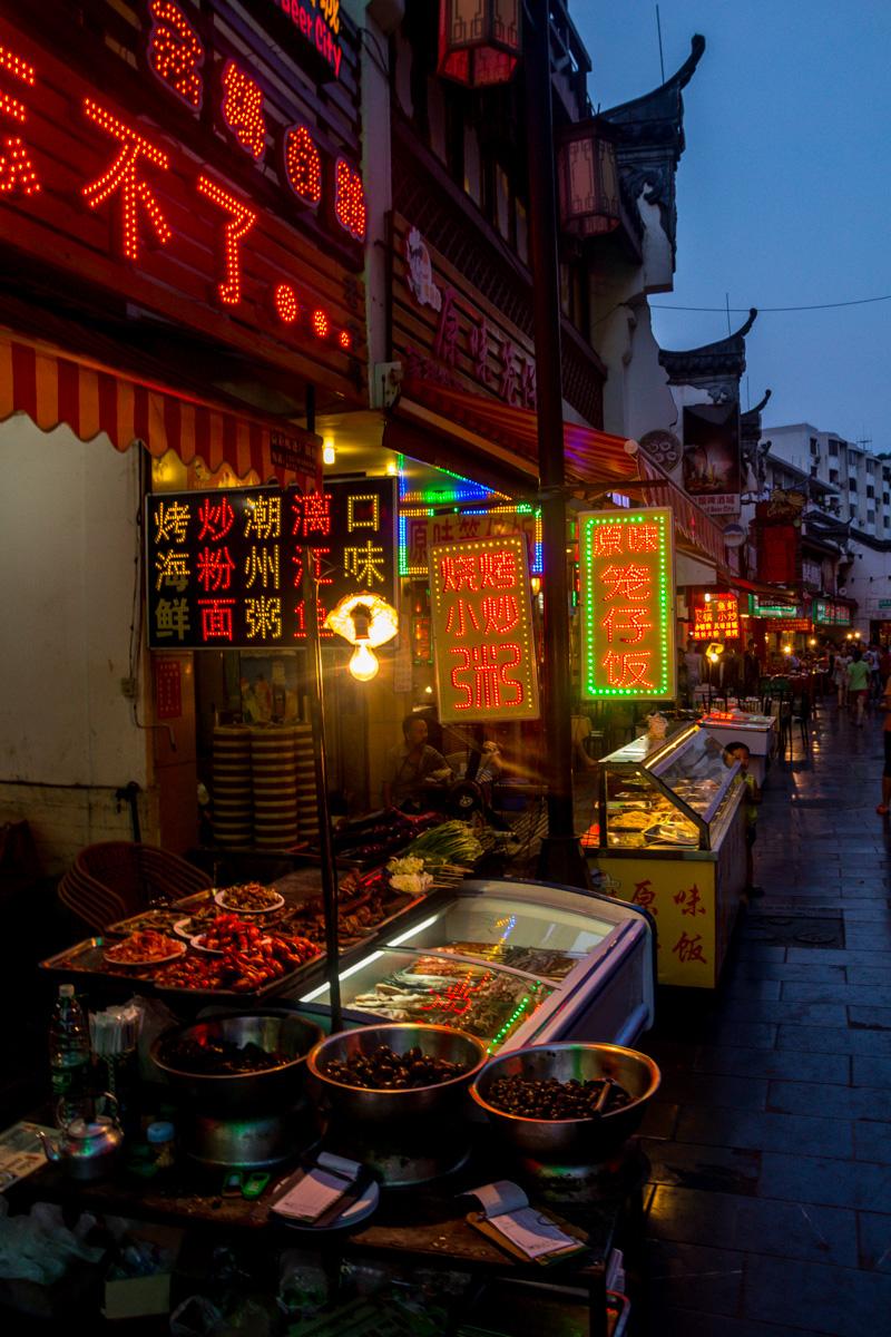 Comida local en Guilin