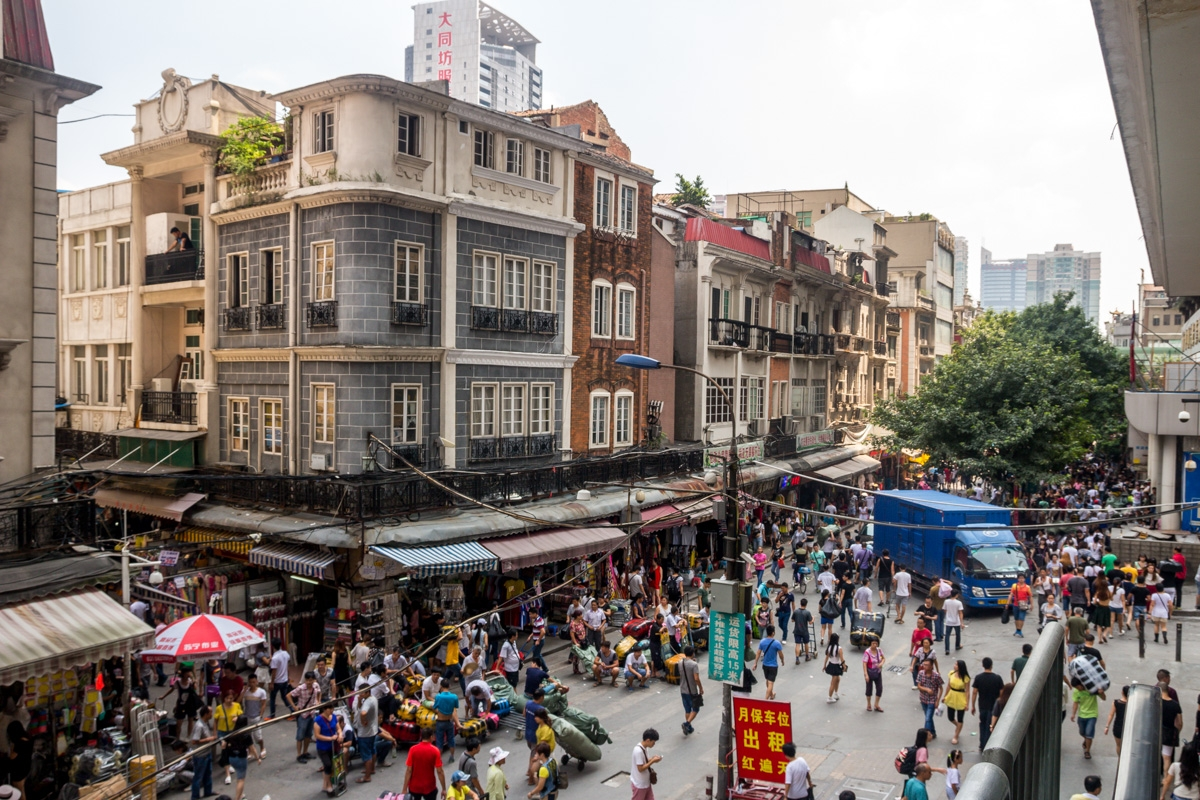 Calles de Guanghzhou